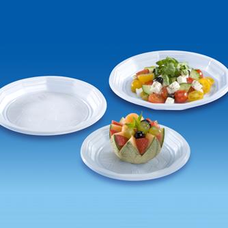 Assiettes Rondes, Ovales et Carrés